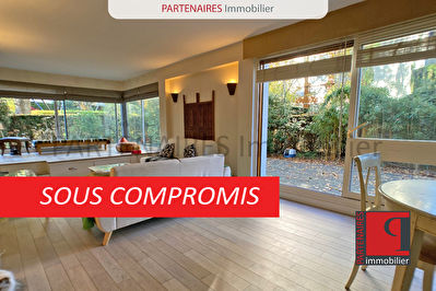Appartement 3 chambres jardin